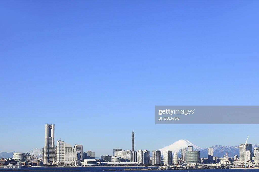 View of Yokohama, Kanagawa Prefecture, Japan