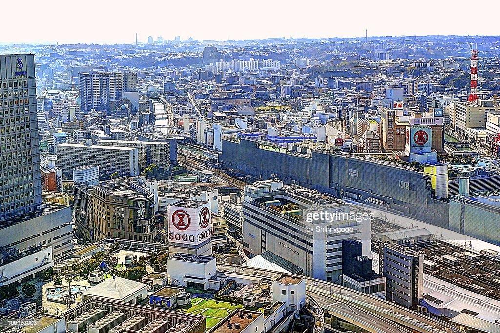 View of Yokohama Station