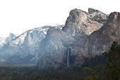 View of Yosemite National Park in USA.