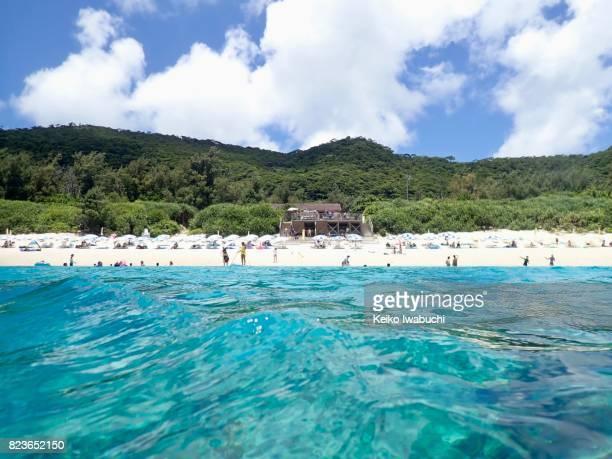 View of Zamami island, Okinawa, Japan