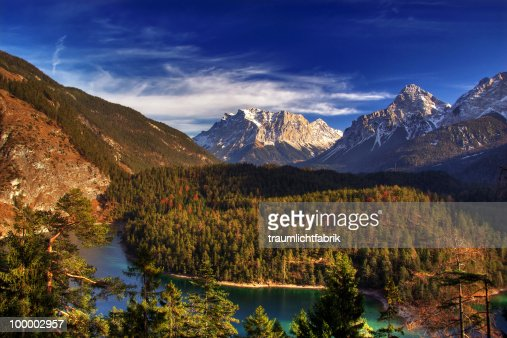 View of Zugspitze  : Photo