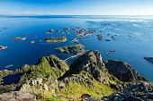 Beautiful nature Norway. Lofoten islands.