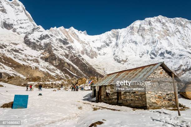 View on Annapurna Base Camp, Nepal