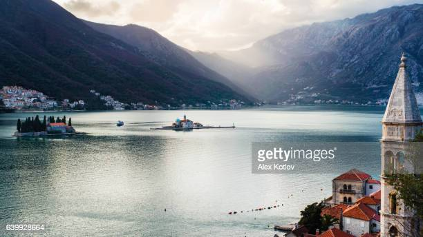 View on bay of Kotor, Montenegro