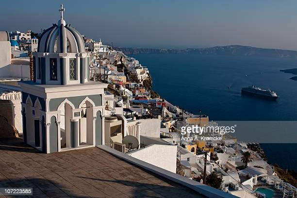 View on caldera from Fira