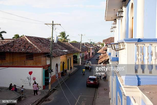 View on Granada street form balcony