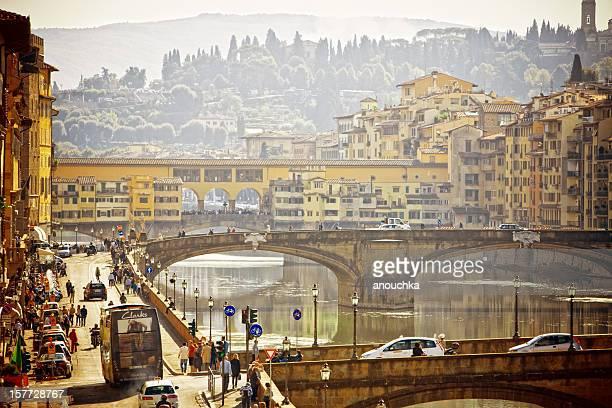 View on Ponte Vecchio, Firenze, Italy