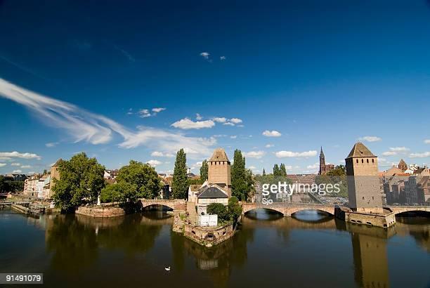 Blick auf Straßburg