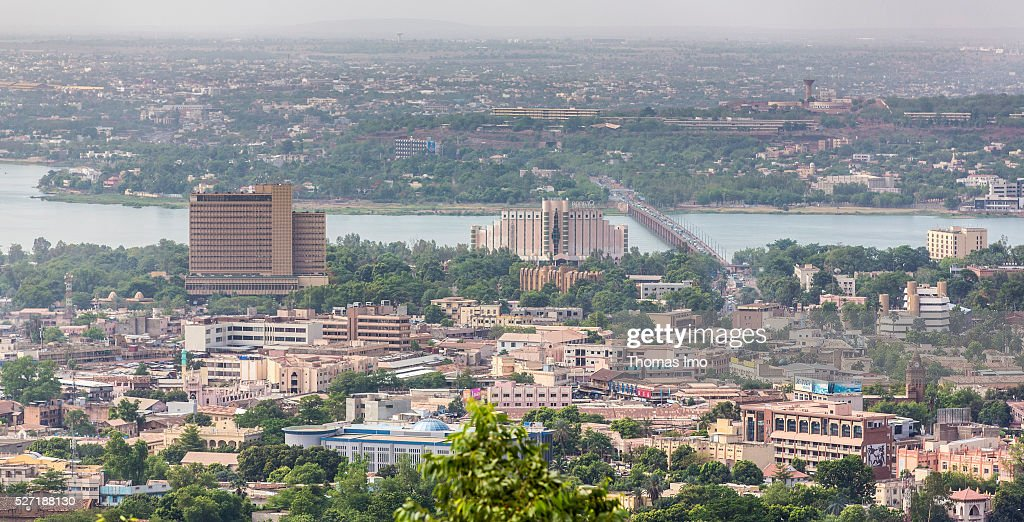 View on the capital of Mali, Bamako on May 02, 2016 in Bamako, Mali.