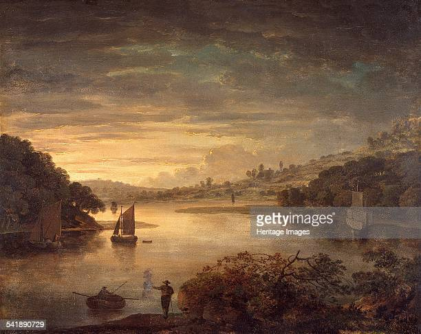 A view on the river Neath in Glamorganshire' 17401760 Artist Anthony Devis