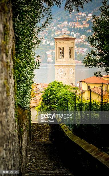 View on Torno village, Lake Como, Italy