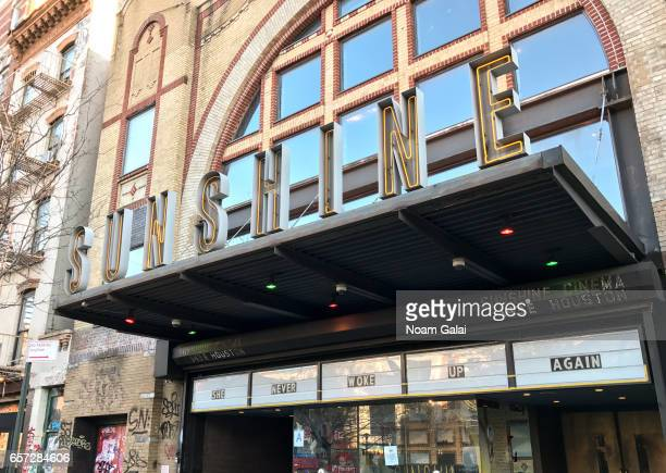 A view outside Landmark Sunshine Cinema on March 23 2017 in New York City