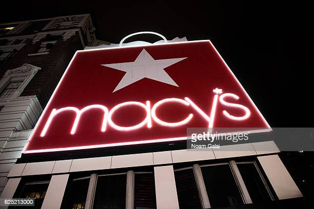A view outside Macy's Herald Square on November 22 2016 in New York City