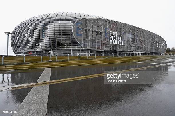 A view outside of Stade Pierre Mauroy on February 2 2016 in Lille France