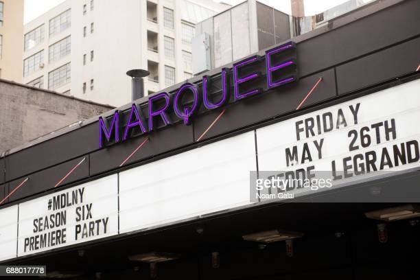 A view outside the Marquee New York Nightclub on May 24 2017 in New York City