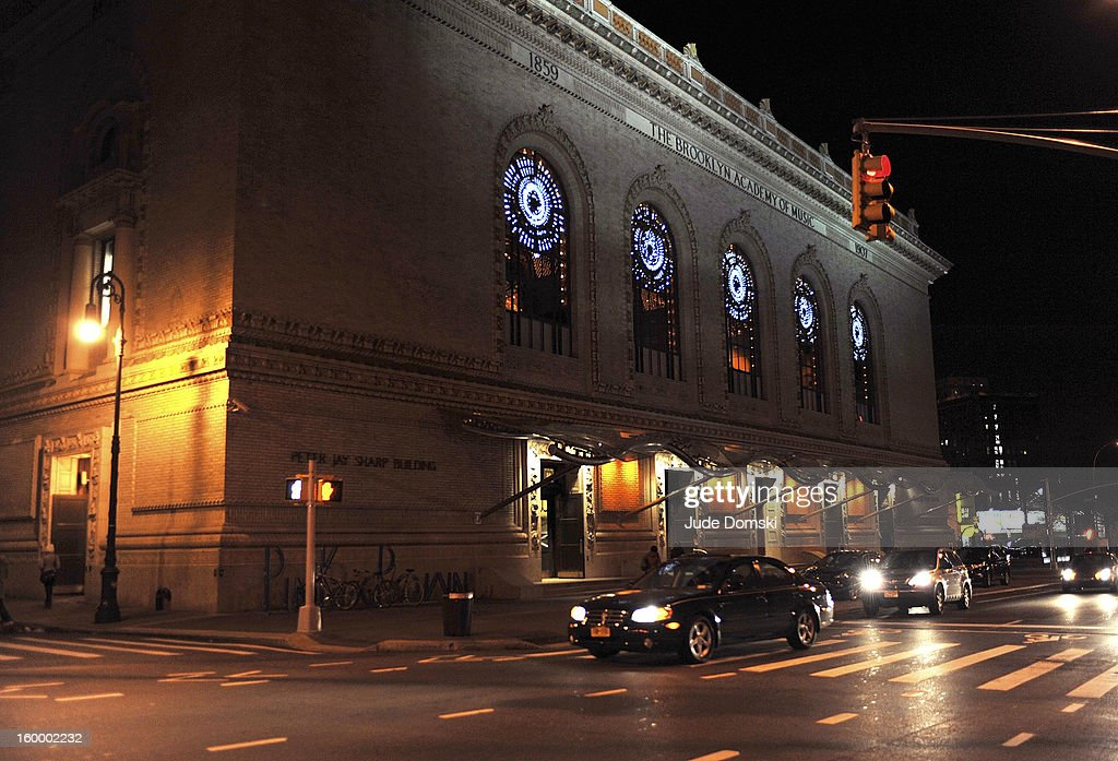 A view outside the Peter Jay Sharp Building during the 2013 BAM Theater Gala at Brooklyn Academy of Music on January 24, 2013 in the Brooklyn borough of New York City.