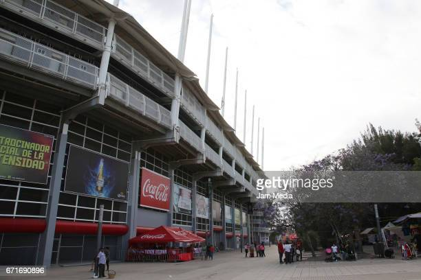 A view outside Victoria Stadium prior the 15th round match between Necaxa and Morelia as part of the Torneo Clausura 2017 Liga MX at Victoria Stadium...