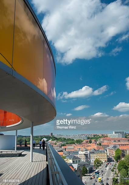 View over Aarhus