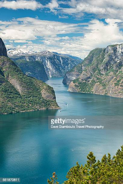 View over Aurlandsfjord, Norway
