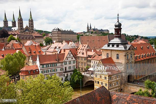 View over Bamberg, Germany