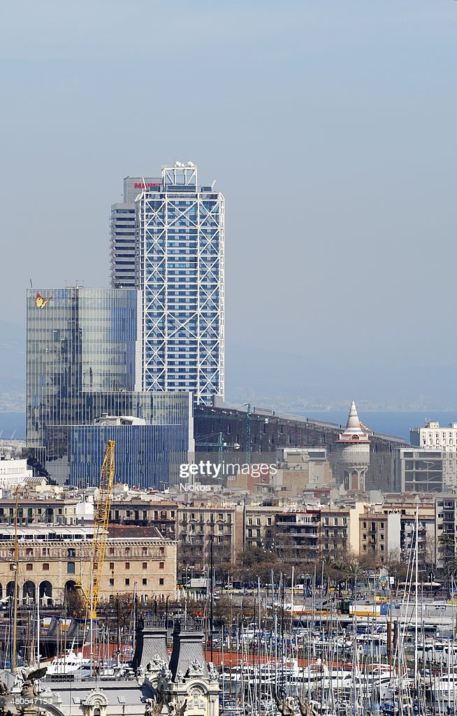 View over Barcelona. Catalonia. Spain : Stock Photo