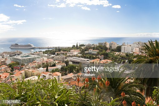 View over Funchal, Madeira