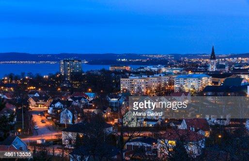 View over Jönköping, Sweden