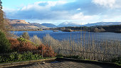 View over Loch Awe to Kilchurn Castle