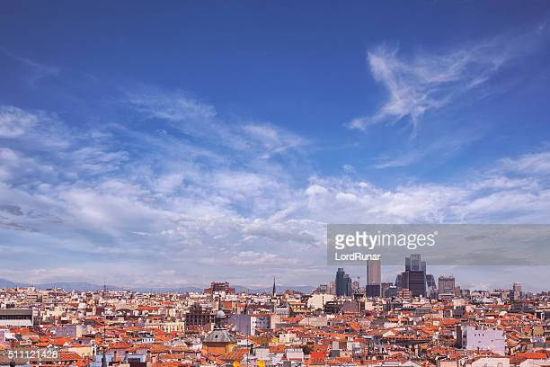 View over Madrid, Spain