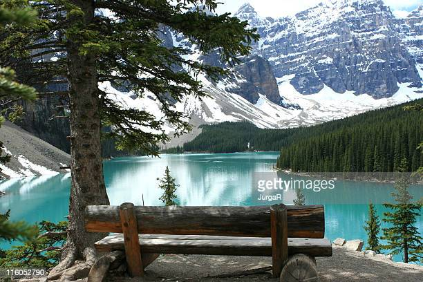 View over Moraine Lake