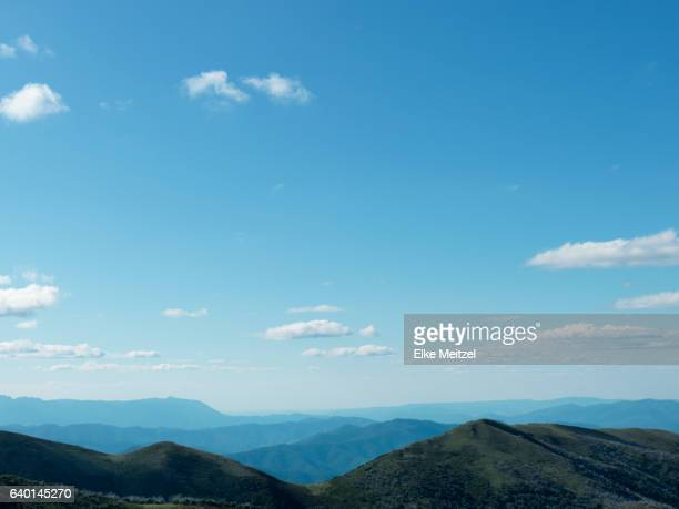 view over mountains near Hotham.