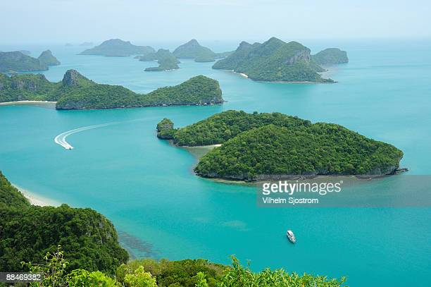 View over Mu Koh Ang Thong marine park