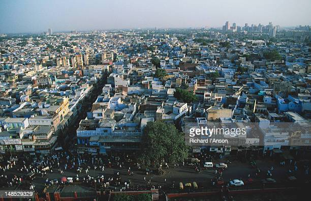 View over old Delhi from Jama Masjid.