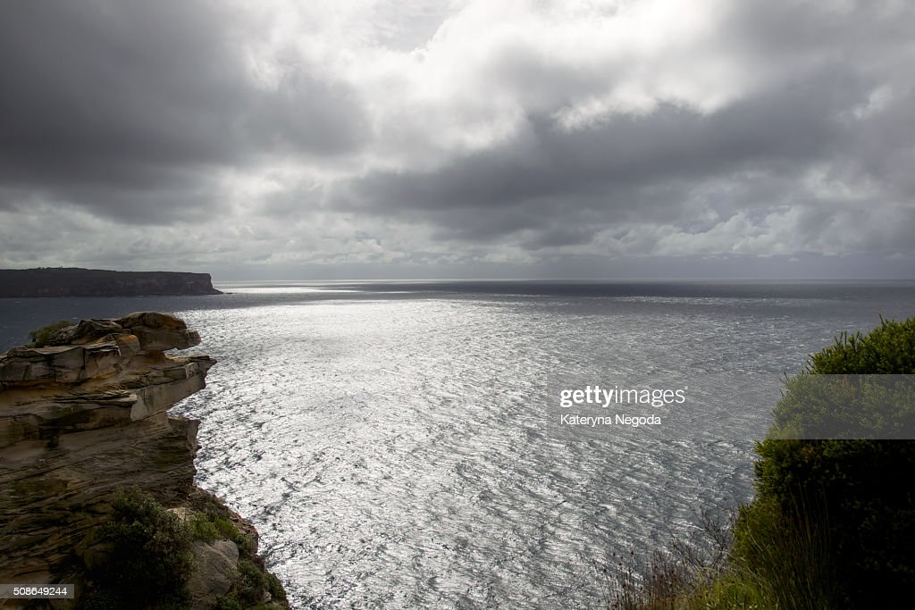 View over Pacific Ocean : Stock Photo