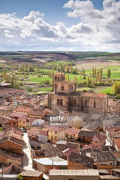 view over Penaranda de Duero