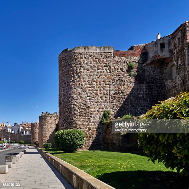 View over the city wall of Plasencia