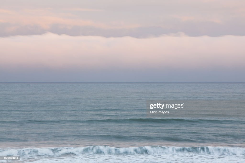 View over the ocean at Kalaloch, at Olympic national park in Washington, USA : Stock Photo