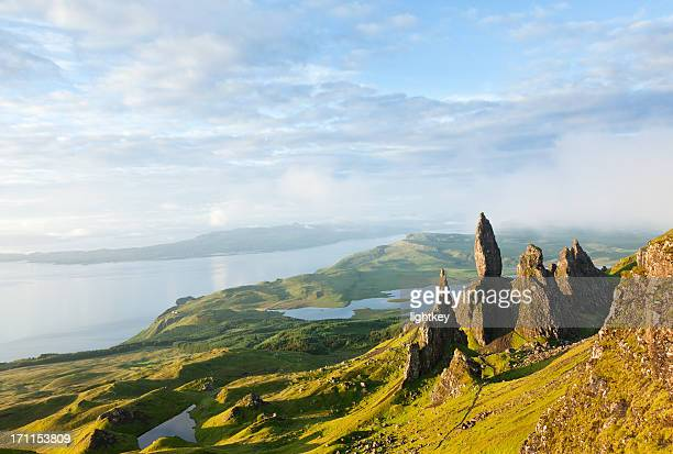 Vue sur Old Man of Storr