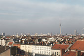 View over the rooftops of Berlin