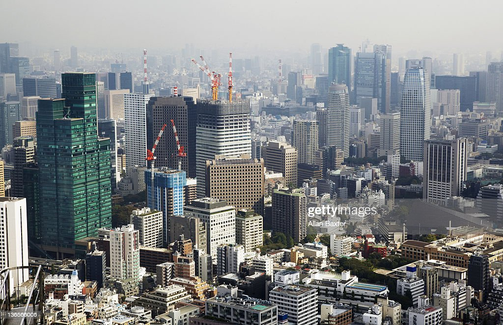 View over Tokyo : Stock Photo