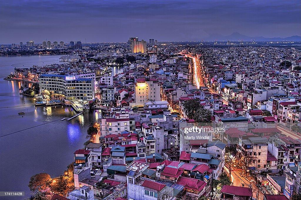 View over West Lake, Hanoi , Vietnam