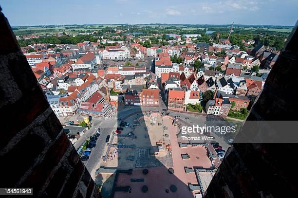 View over Wismar