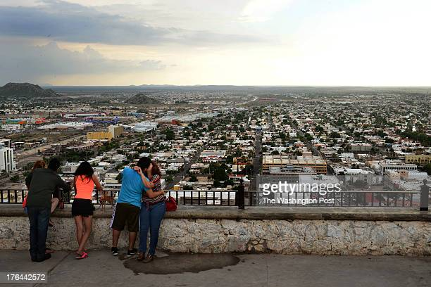 View overlooking lovers and the city of Hermosillo Mexico on July 22 2013 The city of roughly 750thousand people is now home for former US Marine...