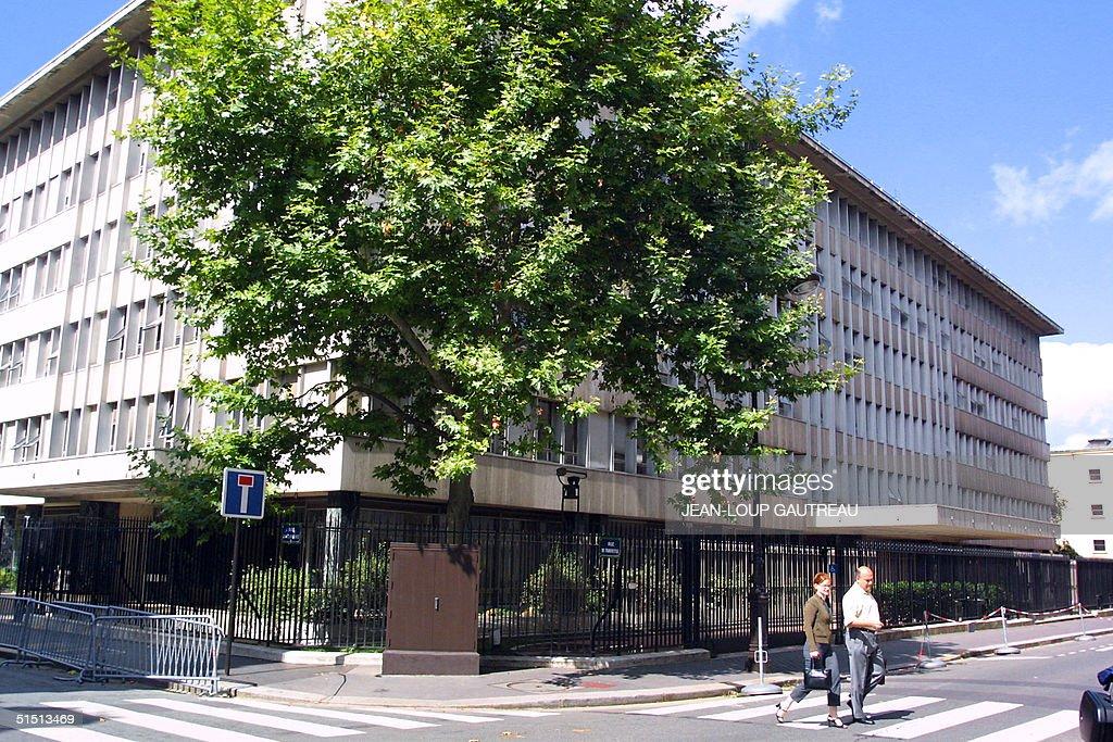 View taken 16 August 2001 in paris of the OECD building Vue prise le 16 aovt 2001 a Paris du bGtiment de l'OCDE