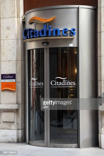 KAUFFMANN A view taken on May 3 2013 of the front entrance of a Citadines residence hotel in Paris AFP PHOTO / THOMAS SAMSON