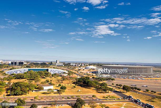 View the Monumental Axis in Brasilia Brazil