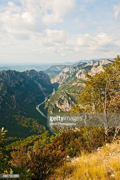 View the Verdon Gorge in south France