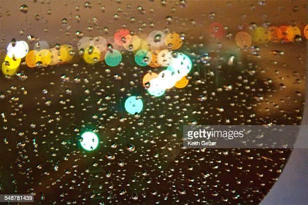 View Through A Rainy Window