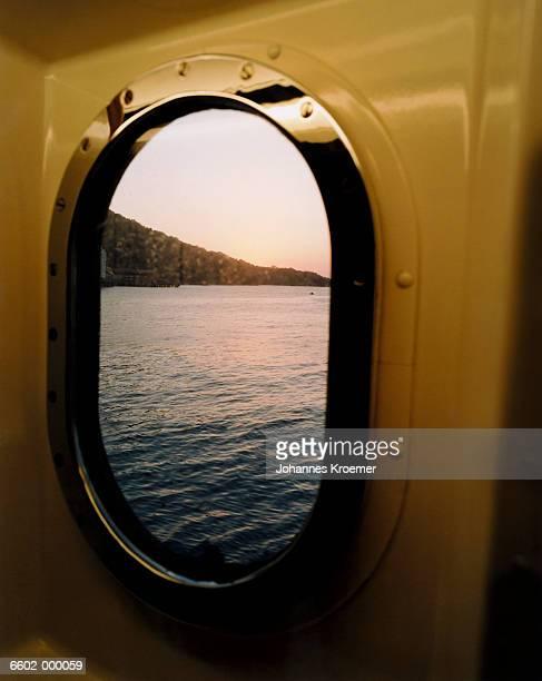 View through Ship Window