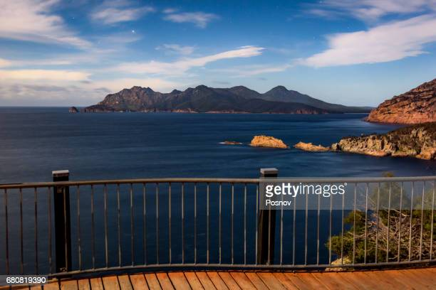 View to Freycinet Penninsula from Cape Tourville, Tasmania